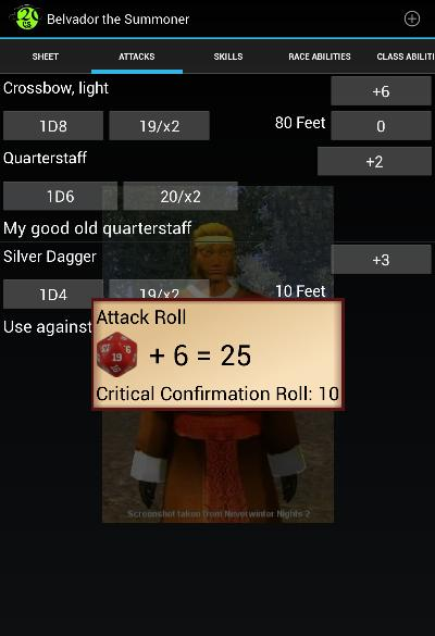 Attack Roll Critical