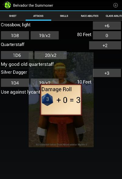 Damage Roll